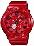 [カシオ] 腕時計 ベビージー BGA-133-4BJF レッド