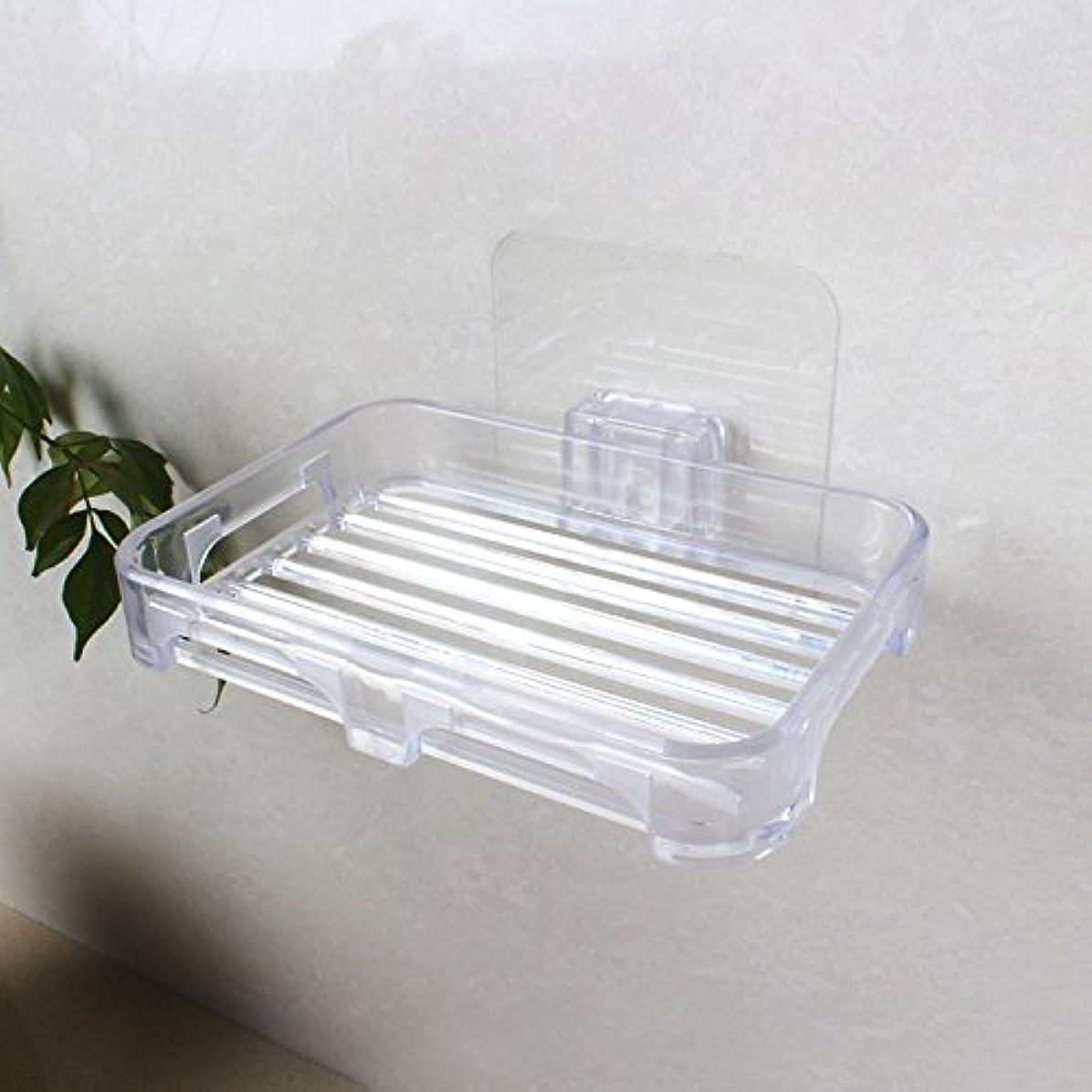 ヒープ料理をするサポートgtvernh-noドリルnoトレースの貼り付け貼り付け強度Soapボックス強力な吸引壁Hangings透明色Lishuiソープホルダーソープボックスホルダー 6484987035585