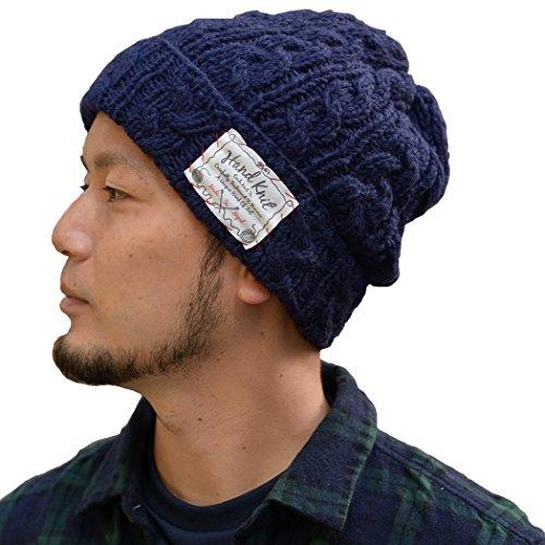Nakota (ナコタ) ウール アラン ニットキャップ 帽子...
