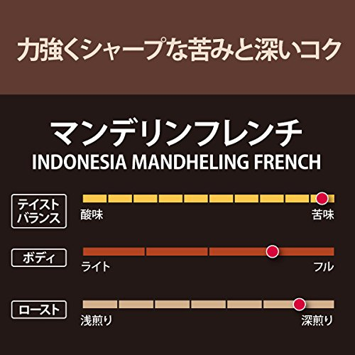 【焙煎珈琲】マンデリンフレンチ/200g(フィルター用(中挽き8番))