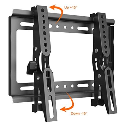 テレビ壁掛け 金具 Himino 高品質14~40インチ モニター LCD LED液晶テレビ対応 上下調節式 VESA対応 最大250*210mm 耐荷重25kg