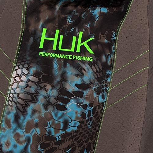 Huk Fishin Seat Cover, Unisex-Adult, Seat Cover, C000119090199, Gray/Kryptek Neptune, Single