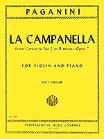 PAGANINI - La Campanella Op.7 para Violin y Piano (Kreisler)