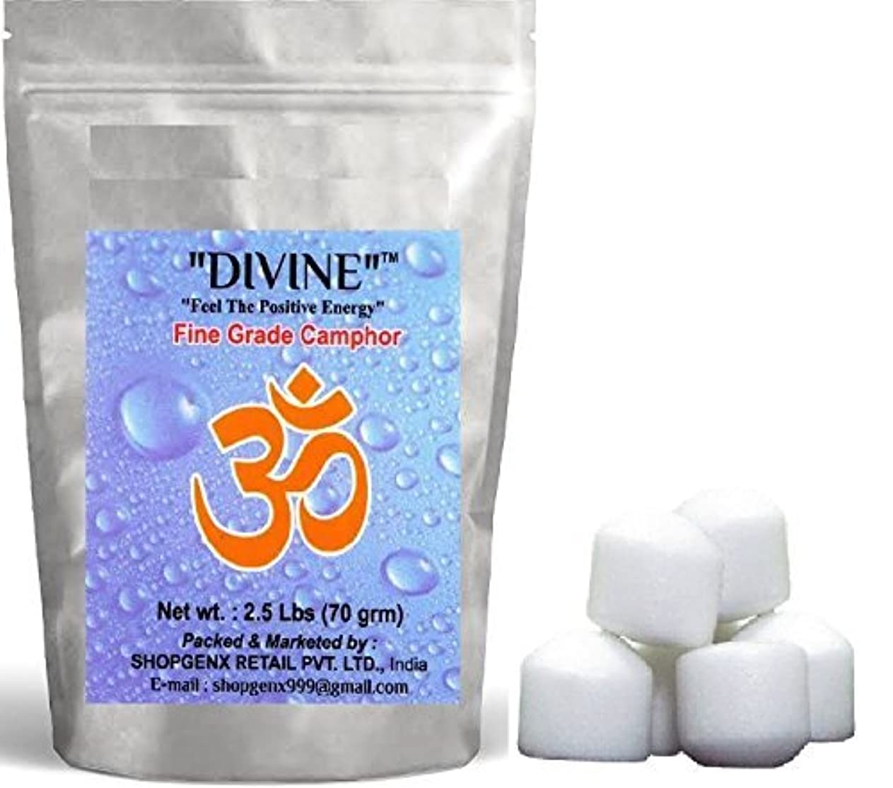 マウント返還と組む供養Pure Refined Camphor 70 gmラウンドfor Holy Spiritual Hindu供養Ganpati & Diwali Rituals