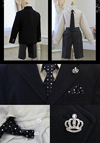 男の子 スーツ 53201L 入学式 卒園式 子供服 フォーマル 発表会 結婚式 七五三 [リトルリード] LITTLE LEAD 130cm