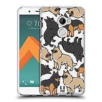 Head Case Designs ベルジャン・ターブレン ドッグブリード・パターンズ 5 ソフトジェルケース HTC One X10