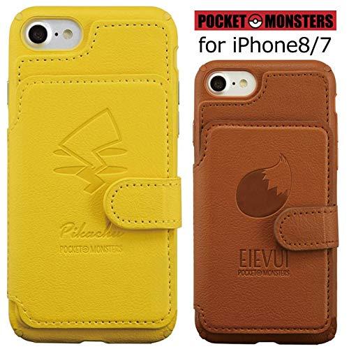 【カラー:イーブイ】iPhone8 iPhone7 ポケット...
