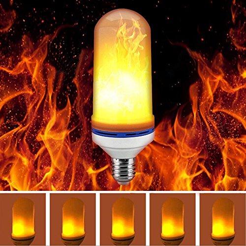フレームランプ Flame light 2018New led電球 E26 キャンドルライト 火炎の効果 クリスマスホリデーパーティーの誕生日に装飾ラントランプ
