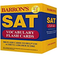 Barron's SAT Vocabulary: 500 Flash Cards to Help You Achieve a Higher Score