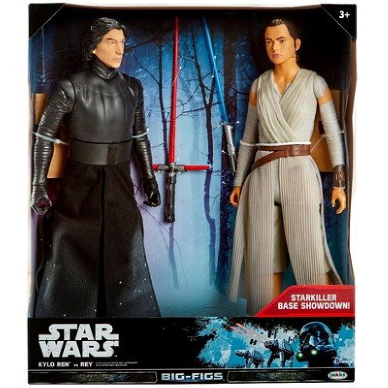 Star Wars(スターウォーズ) Star Wars Kylo Ren vs. Rey Action Figure 18 - 2 pk