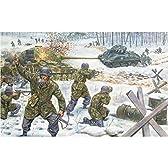 イタレリ 6103 1/72 バルジの戦い 米軍・独軍 ジオラマセット