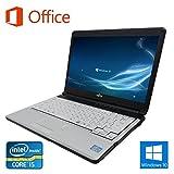 【Microsoft Office 2016搭載】【Win 10搭載】富士通 S761/D/第二世代Core i5 2.5GHz/メモリー4GB/新品SSD:240GB/DVDスーパーマルチ無料搭載/13インチ/無線LAN搭載/中古ノートパソコン (新品SSD:240GB)