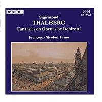 タールベルク:ドニゼッティのオペラによる幻想曲集(ピアノ・ソロ)