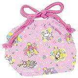 小森樹脂 スター☆トゥインクルプリキュア ランチ 巾着 ピンク 30×16.5×マチ12cm   1個入1個セット