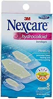 Nexcare Hydrocolloid Bandage, Assorted, 5ct