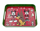 Best サービングトレイ - Disney(ディズニー) Mickey Mouse and Friends Holiday Serving Tray Review