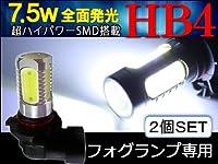 ランドクルーザープラド 120系 フォグランプ LED HB4 7.5W 2個セット RZJ120 TRJ120 VZJ120