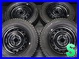 【新品タイヤ・中古ホイール 4本セット】【新品】ブリヂストン ブリザック REVOGZ 165/70R14 【中古】トヨタ純正 14x5.0 100-4穴 14インチ スタッドレスタイヤホイールセット 冬タイヤ Y14170430072