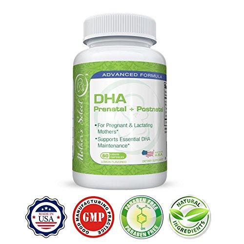 出産前の DHA - Mother's Select DHA プレネイタル - EPA フィッシュオ...