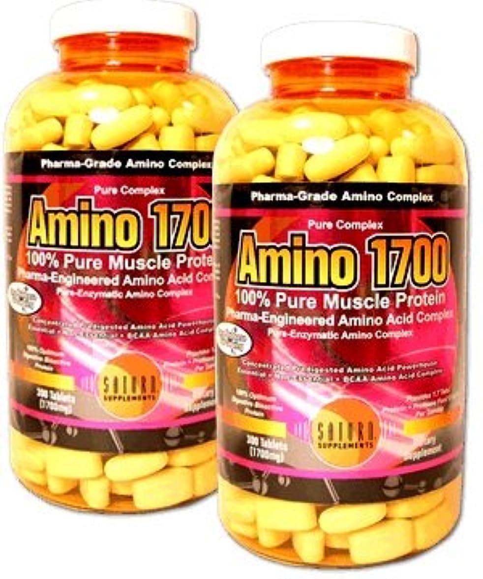 ダッシュアコー彼女自身New Amino1700/Tri Complex-300Tables【アメリカメーカーから海外直送品】 New アミノ1700 300錠 (1)