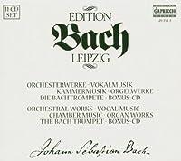 ライプツィヒ・バッハ・エディション  管弦楽団弦楽作品集、声楽作品集、室内楽作品集、他