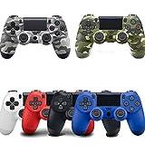 Rabugoo PS4ゲームパッド Bluetooth ワイヤレス PS4ゲームコントローラ PS4振動ジョイスティック