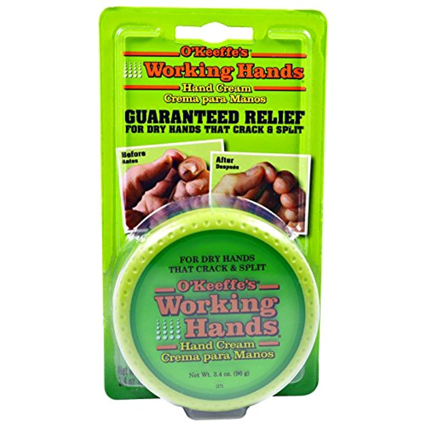 対称巨人ぼんやりしたオキーフス ワーキングハンドクリーム チューブ 85g 2点 & ワーキングハンズ ハンドクリーム96 g 2点 2セット(並行輸入品) O'Keeffe's Working Hands Hand Cream 3oz