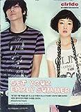 【韓国】 clride カタログ 2007 SUMMER TREND SUGGESTION チュ・ジフン&パク・シネ