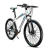 Cyrusher XF900超かっこいい電動アシスト自転車 26インチMTBマウンテンバイク (ブルー)