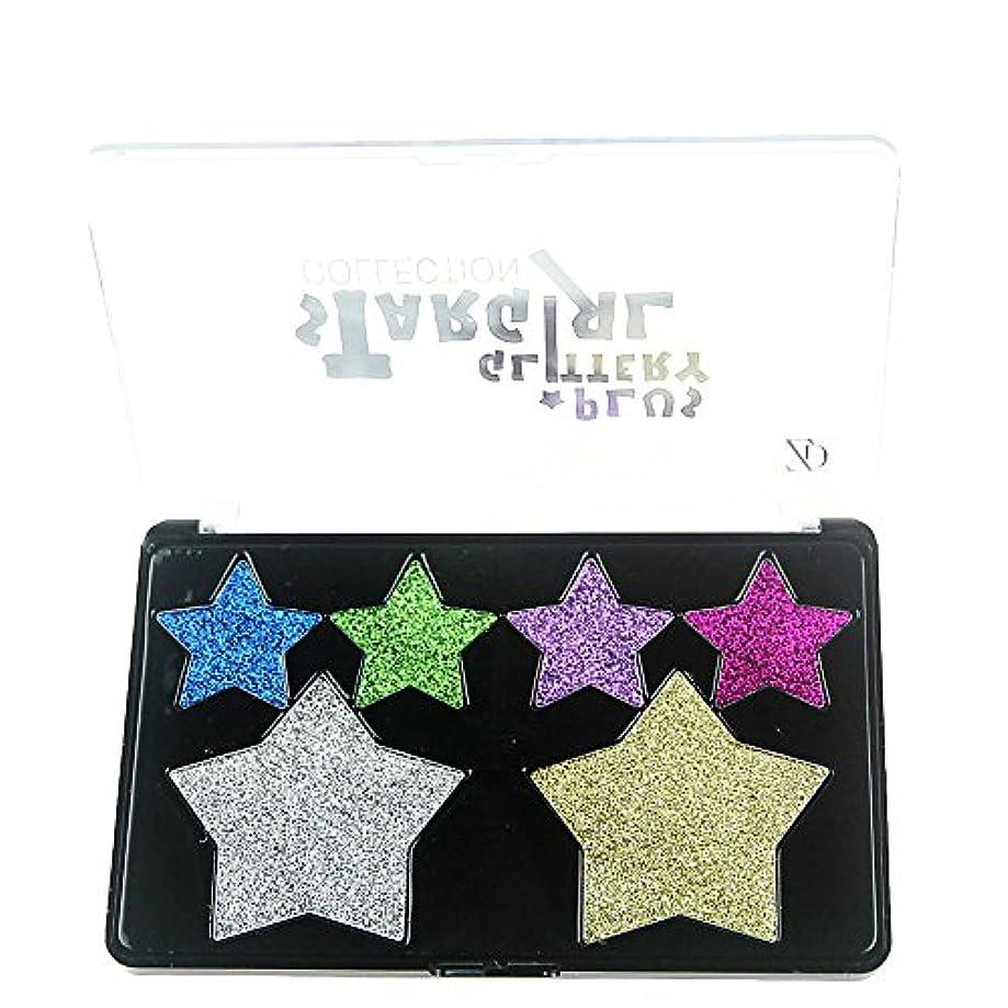 韓国一方、しがみつくAkane アイシャドウパレット ZD ファッション スパンコール 人気 キラキラ つや消し グリッターパウダー 綺麗 高級 マット 持ち便利 Eye Shadow (6色) F2132