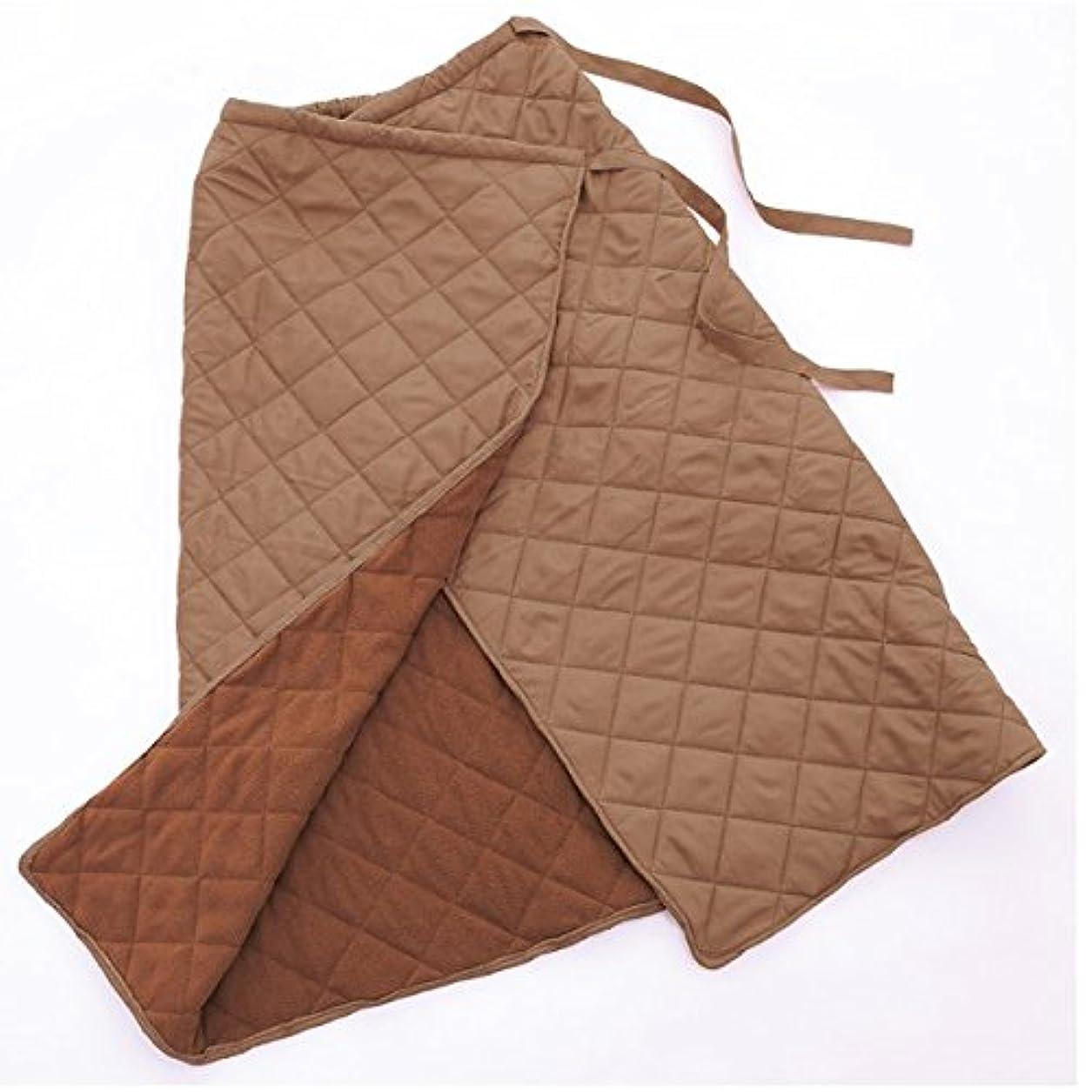 またはどちらか中国より良い巻きスカート 防寒 冬 あったか 冷え かわいい おしゃれ キルティング フリース あったか ロング レディース 足の冷え ひざ掛け 巻 あったか巻きスカート ココア