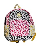 コンバース ワンスター おもちゃ CONVERSE ALL-STAR PRINTED BACKPACK Book Bag NEW 9A5171-661 Pink Yellow 14x11x6 [並行輸入品]