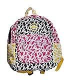 コンバース ジャックパーセル おもちゃ CONVERSE ALL-STAR PRINTED BACKPACK Book Bag NEW 9A5171-661 Pink Yellow 14x11x6 [並行輸入品]