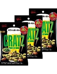 江崎グリコ クラッツ枝豆 42g×3袋