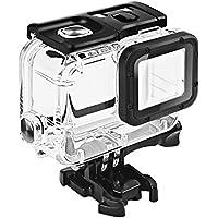 GoPro HERO 7/6/5 (2018)ブラック対応 | ダブルロック| 45m水深ダイビング| 防水防塵保護ハウジング| Go Pro Hero7 Hero6 Hero5 アクションカメラ対応 水中撮影用