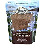 Stoney Creek Organic Brown Flaxseed Meal 1 kg