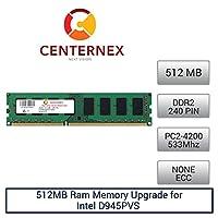 512MB RAM メモリー Intel D945PVS (DDR24200 NonECC) マザーボード用メモリアップグレード US Seller製