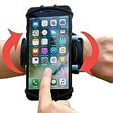 VUP+ スポーツ アームバンド リスト 装着 軽量 使いやすい 回転式 iPhone / Xperia など各種 スマホ (4〜5.5インチ) に対応 (グリーン)