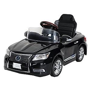ミズタニ 電動バッテリーカー 新型レクサスLS600hL Sライトブラック NLK-B