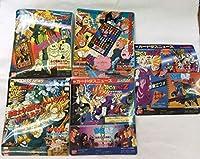 【・】カードダスニュース ドラゴンボールZ 5枚セット / カードダス100 ドラゴンボール 台紙 1993 1994 dragonball 非売品