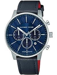 [エンジェルクローバー]Angel Clover 腕時計 NUMBER(N)INE ×ANGEL CLOVER COLLABORATION ネイビー文字盤 60分計クロノグラフ NNC42SNV-NV メンズ