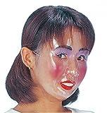 透明フェースマスク・女 / アイコ