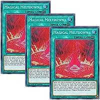 【 3枚セット 】遊戯王 英語版 SHVA-EN042 Magical Meltdown 暴走魔法陣 (スーパーレア) 1st Edition