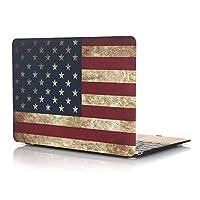 """アメリカ国旗ハードシェルケース+キーボードカバーfor MacBook Pro 13インチwith Retina Display (モデル: a1502/ a1425)–USA Flag MacBook Retina 12"""""""