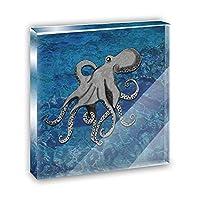 Octopus Office MiniアクリルデスクプラークオーナメントPaperweight