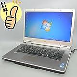 大赤字宣言 【冬限定キャンペーン 冬ギフト】★即使用可能!中古ノートパソコン★ Windows7搭載 NEC VK26MD-B PC-VK26MDZCB/高速Core i5 560M 2.67Ghz/メモリー2GB/HDD 160GB/15.6インチ(1366x768)/Microsoft Office 2010搭載