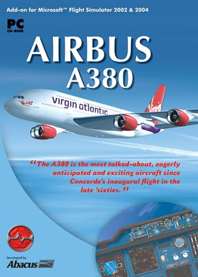 創造迷路チョップAirbus A380 for Microsoft Flight Simulator 2004 & 2002 (輸入版)