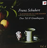 Schubert: Pno Music for 4 Hands 4 by Duo Tal & Groethuysen (2009-06-16)
