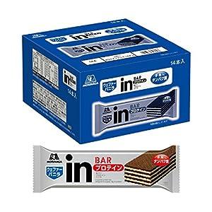 inバー プロテイン バニラ (14本入×1箱) バニラクリームの甘味を感じるウェファータイプ 高タンパク10g