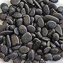 黒磨き玉砂利 直径約1.5~3cm (1000)
